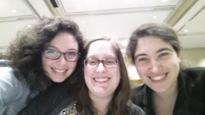 NDSR NY & Boston representing at code4Lib 2015! Me, Peggy, & Rebecca