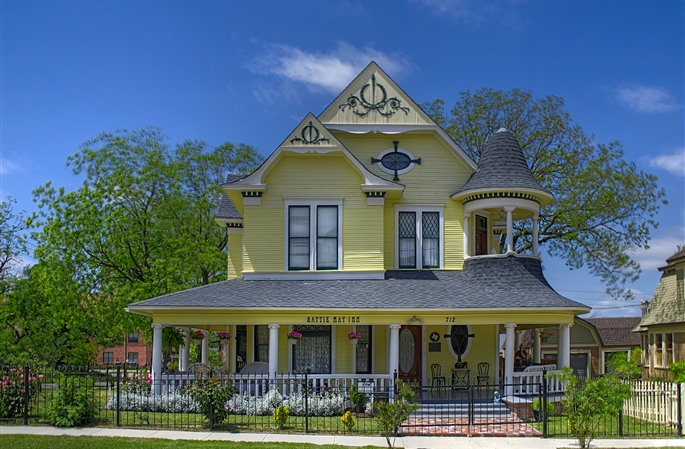 The Hattie May Inn in Fort Worth. Photo © BedAndBreakfast.com.