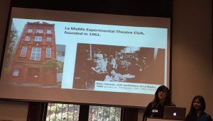 Dr. Rachel Mattson, La Mama & Poorma Swami, La Mama Experimental Theater Club on Grant Writing.