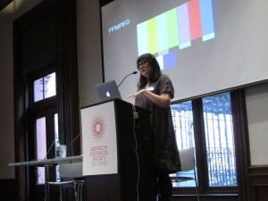 Dinah Handel on micro services and open source solutions for audiovisual media preservation.